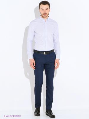 Рубашка Imperator. Цвет: серо-голубой