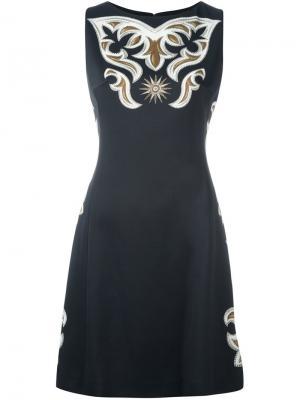 Платье Fantasia Fausto Puglisi. Цвет: чёрный