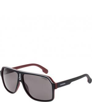 Поляризованные солнцезащитные очки Carrera. Цвет: черный