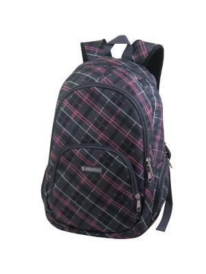 Рюкзак Stelz. Цвет: розовый, серый