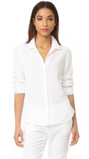 Рубашка на пуговицах Scout XIRENA. Цвет: белый