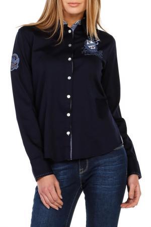 Рубашка Galvanni. Цвет: navy