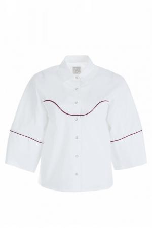 Рубашка STELLA JEAN. Цвет: белый