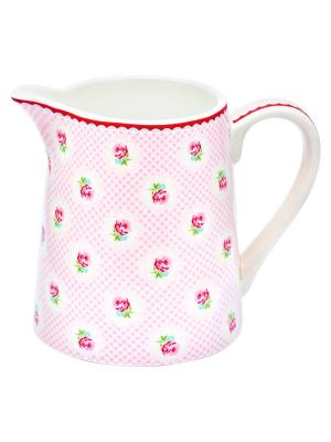 Кувшин Tammie pale pink Greengate. Цвет: розовый