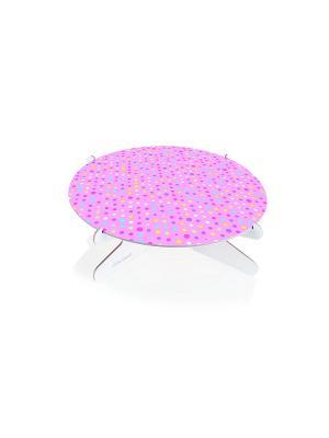 Подставка для торта Tescoma. Цвет: розовый