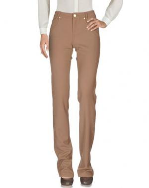 Повседневные брюки MARANI JEANS. Цвет: коричневый