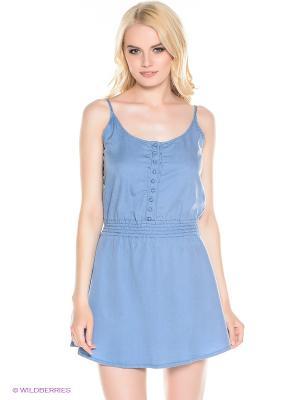 Платье Cantel BILLABONG. Цвет: голубой