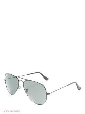 Солнцезащитные очки AVIATOR LARGE METAL Ray Ban. Цвет: черный