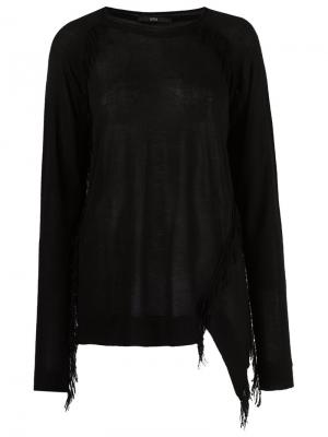 Asymmetric blouse Uma | Raquel Davidowicz. Цвет: чёрный