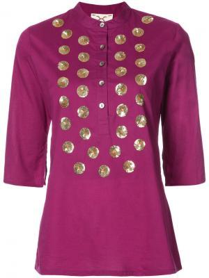 Туника Jasmine Figue. Цвет: розовый и фиолетовый