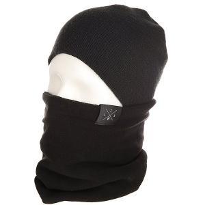 Шарф труба  Fleece Gater Black Les. Цвет: черный