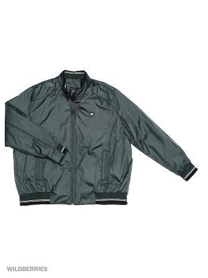 Куртка IFC. Цвет: темно-зеленый