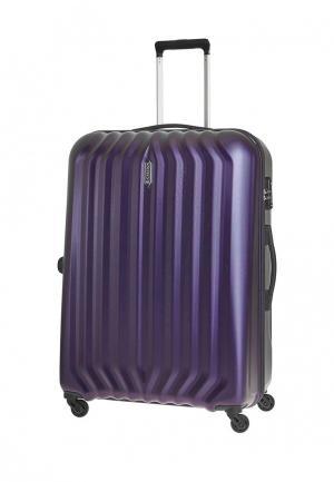 Чемодан 108л (L) Carlton. Цвет: фиолетовый