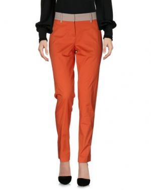 Повседневные брюки ALTEA dal 1973. Цвет: оранжевый
