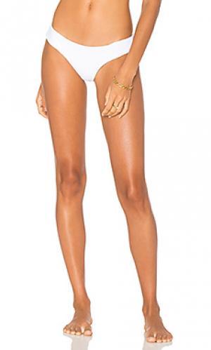 Кокетливые плавки-бикини Bettinis. Цвет: белый