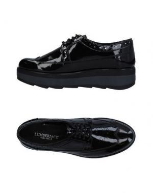 Обувь на шнурках LUMBERJACK. Цвет: черный