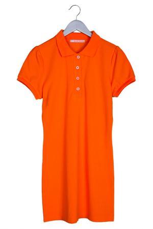 Платье Orby. Цвет: оранжевый