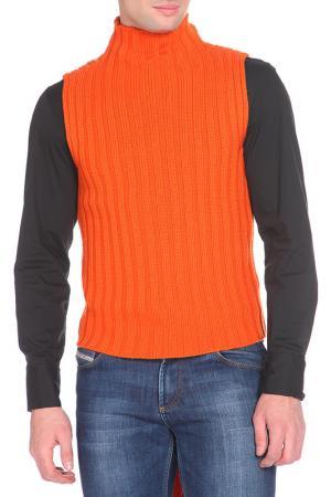 Кардиган John Richmond. Цвет: оранжевый