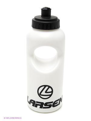 Бутылка для спорта Larsen. Цвет: белый