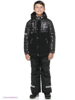 Куртка SAIMA. Цвет: черный