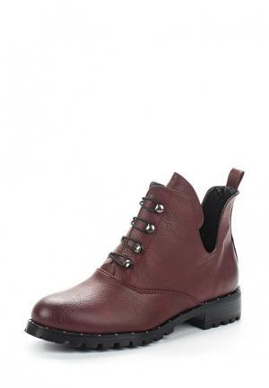 Ботинки Saivvila. Цвет: бордовый