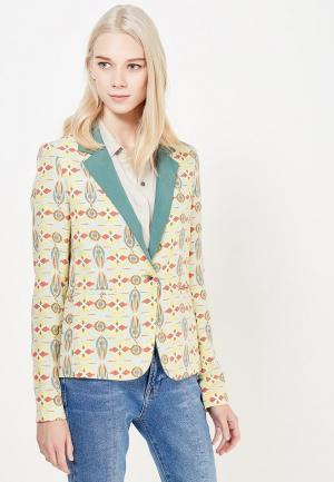Пиджак Sacks Sack's. Цвет: разноцветный