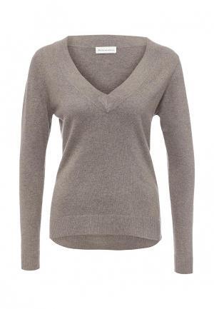 Пуловер Delicate Love. Цвет: коричневый