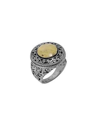 Кольцо DEN'O. Цвет: серебристый, золотистый