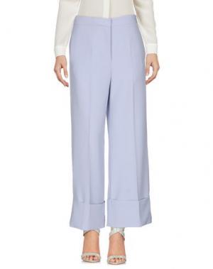 Повседневные брюки VICOLO. Цвет: небесно-голубой