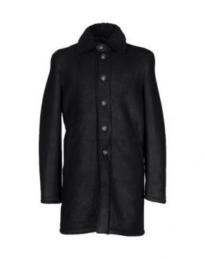 Пальто D'AMICO. Цвет: черный