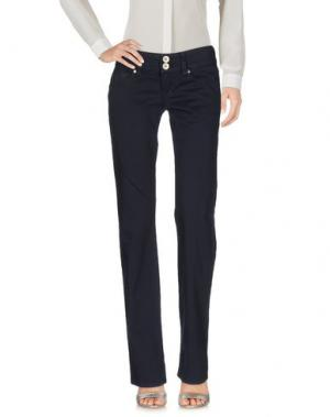 Повседневные брюки NOLITA DE NIMES. Цвет: темно-синий