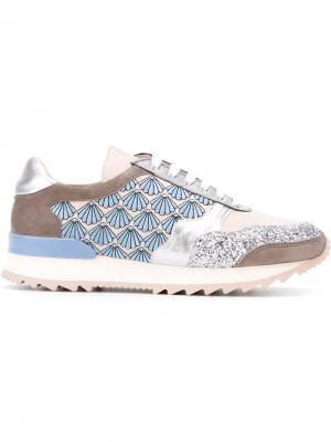 Кроссовки с панельным дизайном Markus Lupfer. Цвет: серый