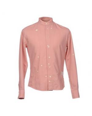 Pубашка THE EDITOR. Цвет: розовый