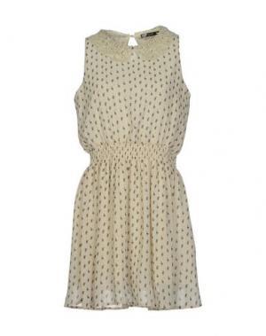 Короткое платье BAGUETTE...... Цвет: бежевый