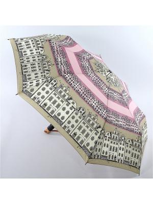 Зонт Airton. Цвет: оливковый, розовый