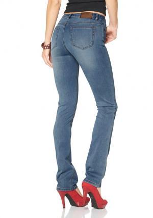 Прямые джинсы Ultimate Straight Otto. Цвет: синий