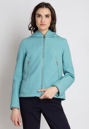 Куртка утепленная Finn Flare. Цвет: бирюзовый