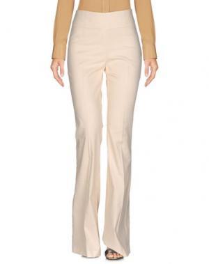 Повседневные брюки ODIEUSES. Цвет: слоновая кость