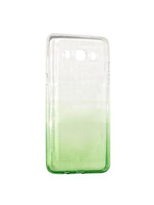 Крышка задняя для Samsung Galaxy J5 (2016) Силикон IQ Format. Цвет: зеленый