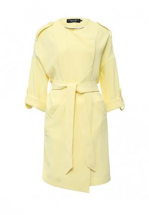 Пальто Concept Club. Цвет: желтый
