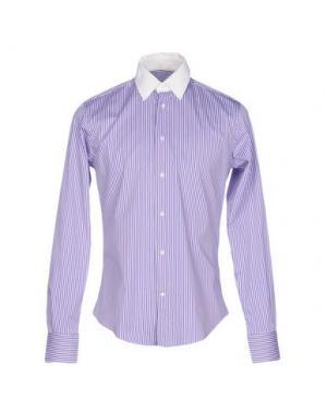 Pубашка BRIAN DALES. Цвет: фиолетовый