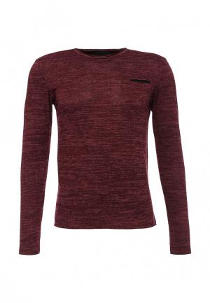 Пуловер Massimiliano Bini. Цвет: бордовый