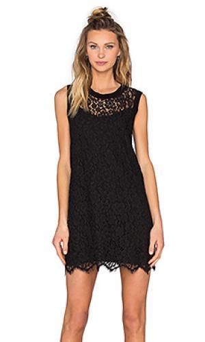 Кружевное платье kaya Generation Love. Цвет: черный