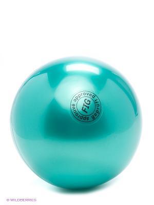 Мяч для художественной гимнастики Larsen. Цвет: зеленый