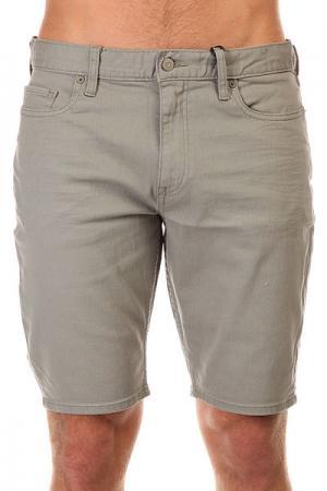 Шорты джинсовые DC Colour Shorts Monument Shoes. Цвет: серый