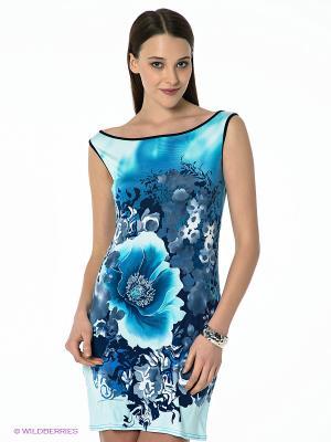 Платье Hammond. Цвет: голубой, синий