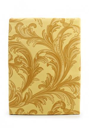 Комплект постельного белья 1,5-спальный Хлопковый Край. Цвет: золотой