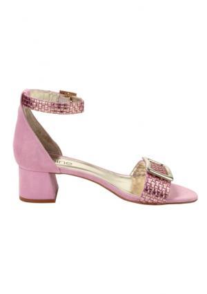 Босоножки Heine. Цвет: розовый/золотистый