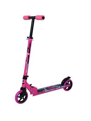 Самокат городской NOVATRACK PIONEER алюм. max 70кг колеса 145 мм. Цвет: розовый
