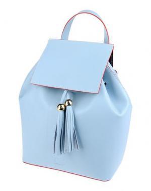 Рюкзаки и сумки на пояс FRANCO PUGI. Цвет: небесно-голубой